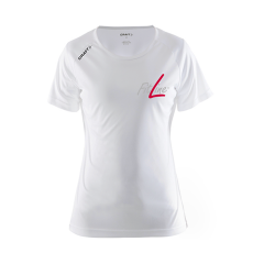 FitLine Craft Sportfunktions T-Shirt Damen weiß